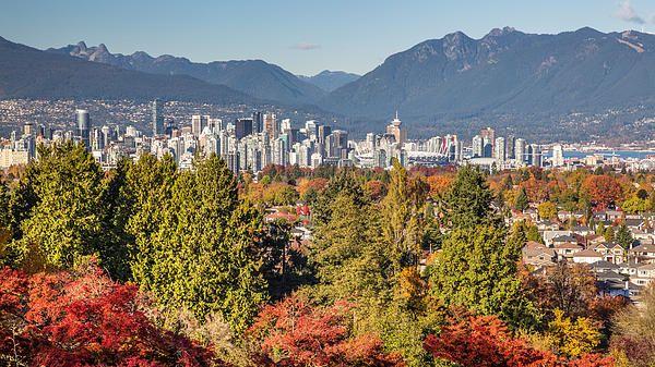 Vancouver City Showing Its Autumn Colors by Pierre Leclerc Photography
