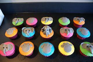cup of cake: Ella de olifant cupcakes