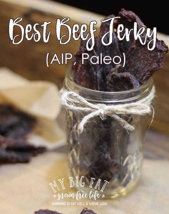 Beef Jerky (AIP, Paleo, with SCD, GAPS option) - Must give this a try!!!!