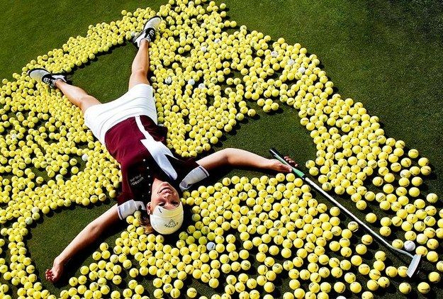 Or on the golf greenery if that's where you actually belong. | 47 Brilliant Tips To Getting An Amazing Senior Portrait