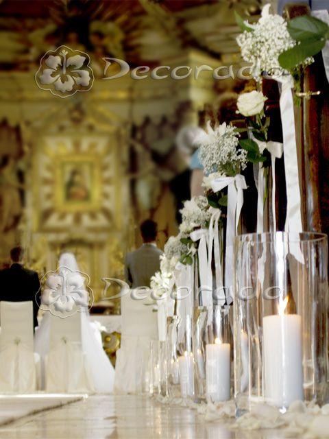 Dekoracja w bieli – Sanktuarium Matki Bożej Pocieszenia w Biechowie
