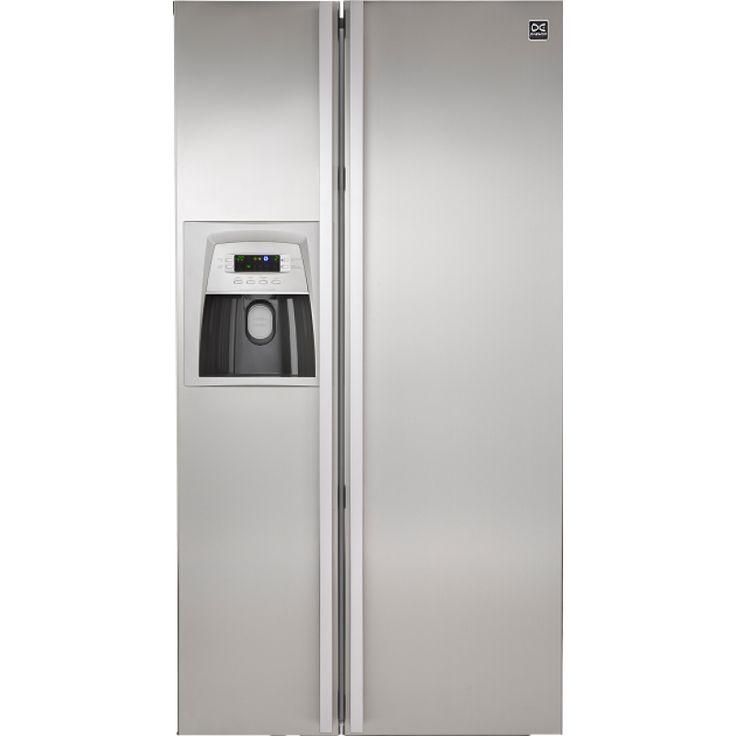 604L Double Door Fridge Freezer Daewoo (FRS-U20 DAS-SS)   Features:  Deluxe Door & Handle Deodoriser Auto Temperature Control Sleep Operation Low Noise Level Fridge & Freezer Lighting Low Noise Level