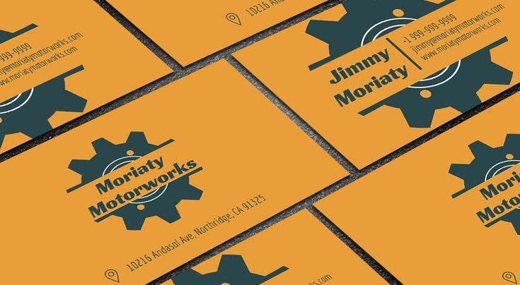 35 best free professional business card edit online and download free minimal mechanic business card reheart Gallery