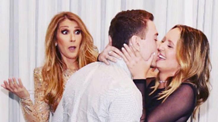 Promi-News des Tages: Celine Dion entgleiten vor Überraschung die Gesichtszüge