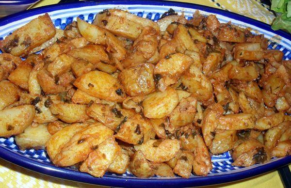 BATATA HARRA (Pomme de terre épicées) - Recette libanaise