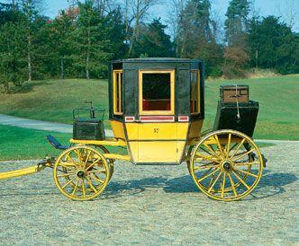 Postkutsche um 1850, Museum für Pferdestärken #Basel #kutschen #carriage #slide #pferdestaerken #horsepower #wagen #transport  #museum #schweiz #ps