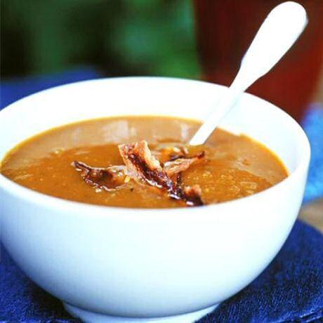 Makkelijk wortel-pompoensoep recept van Jeroen Meus
