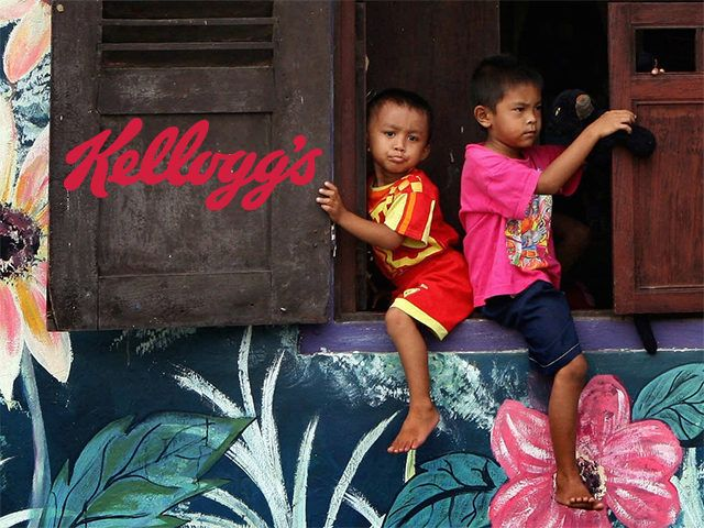 "AI Blasts Kellogg's for Child Labor - could this be why ""K"" no longer to advertise on Breitbart?"