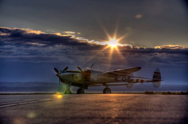 Beautiful P-38 Lightning