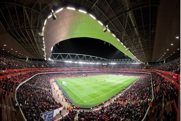 Emirates Stadium. Arsenal football