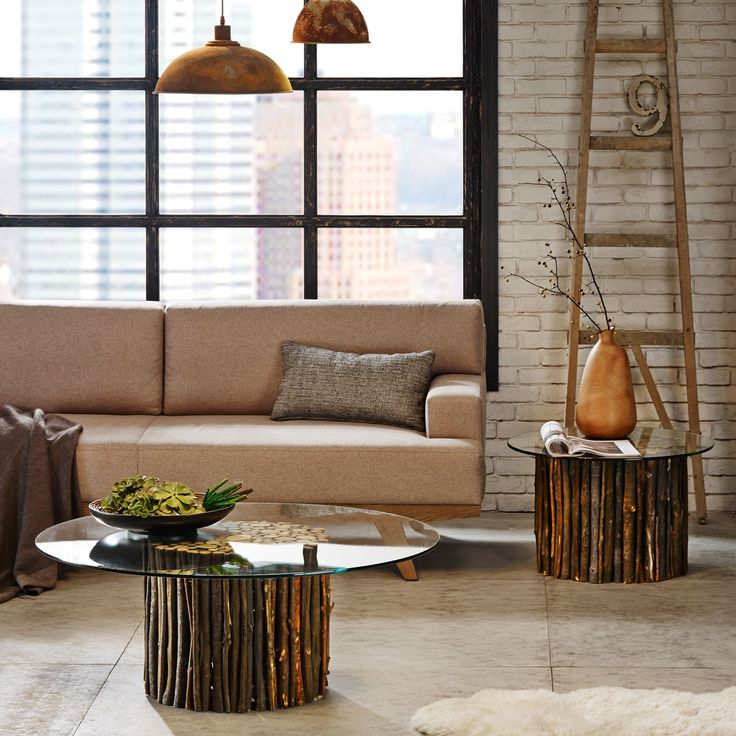 Ink+ivy Topi Rustic Mediterranean Coffee Table with