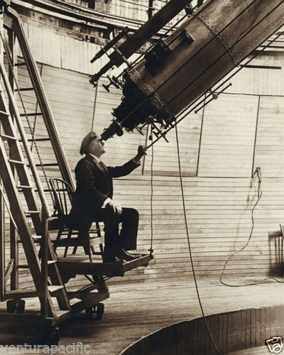 Pervcival-Lowell-Observing-Venus-Lowell-Observatory-1914-Fine-Giclee-Print