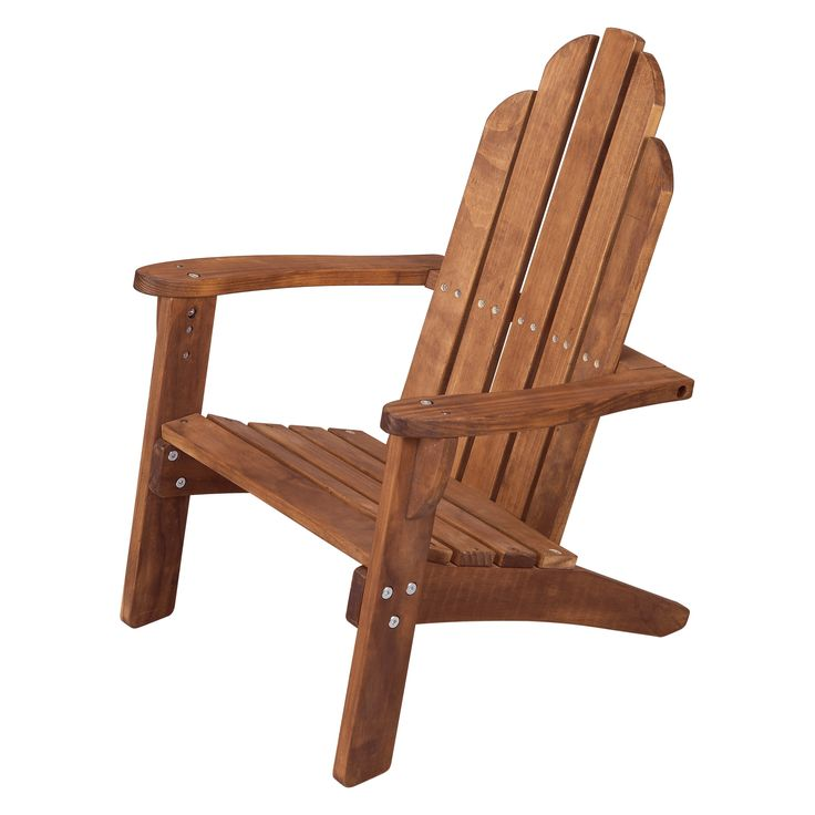 Maxim Kids Adirondack Chair - Little league lounging just got major. The Maxim Kids Adirondack Chair makes little ones feel special in their own chair. It's crafted to loo...
