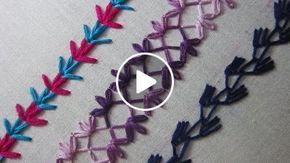 Hand Embroidery Designs | Basic embroidery stitches # Part 6 | Stitch and Flower-76 https://youtu.be/fBYkiopK0ic http://handembstitch.blogspot.com Basic embroidery stitches tutorial for beginners. I am showing here simple and very easy hand embroidery de
