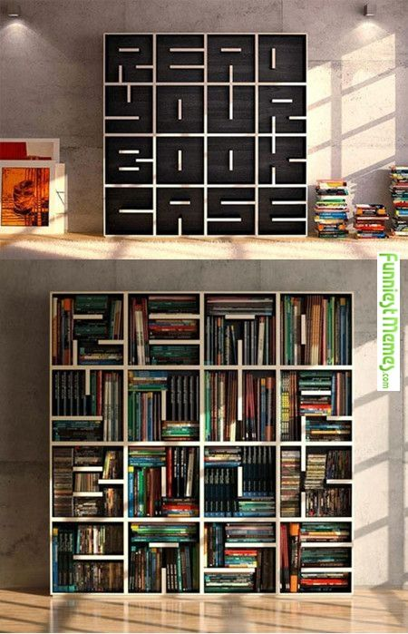 Very cool bookcase