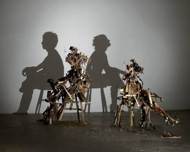 Amazing Shadow Sculptures by Tim Noble and Sue Webster – Marvelous