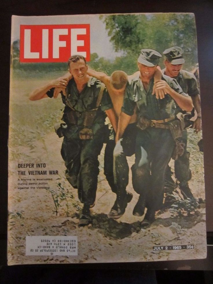Life Magazine July 1965 Deeper Into The Vietnam War Marine