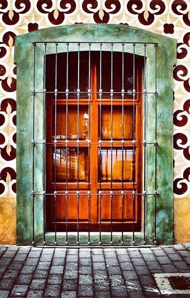 #door Cholula, Puebla, Mexico