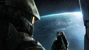 Chief and Cortana by Morriperkele