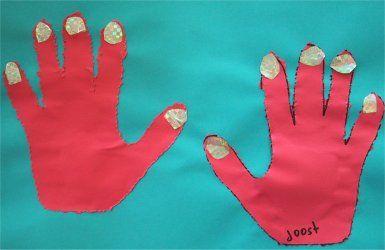 Knutselen: Handen