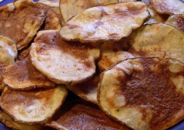 how to make apple chips in the microwave