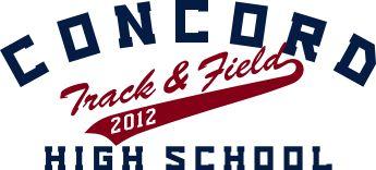 IZA DESIGN custom track & field shirts.  Custom Track & Field T-Shirt Design - East Coast Classic (desn-335e2).  Specializing in custom school sports team tshirts and track & field tshirts for 30 years.