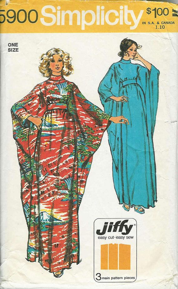 This gives me ideas...  SIMPLICITY  5900 70s Vintage Sewing Pattern... by PatternsNew2U, $12.50