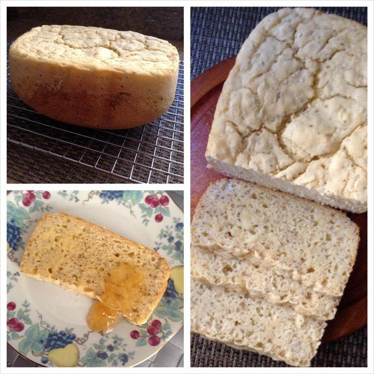 Pão sem glúten feito na máquina de pão - Cozinha Consciente