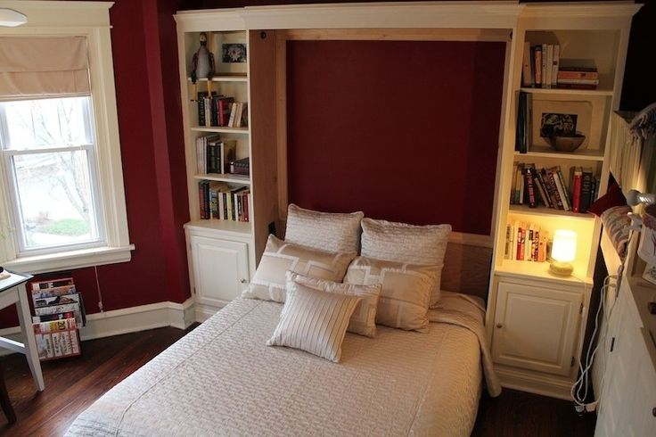 Queen Wall Bed-Maple Furniture