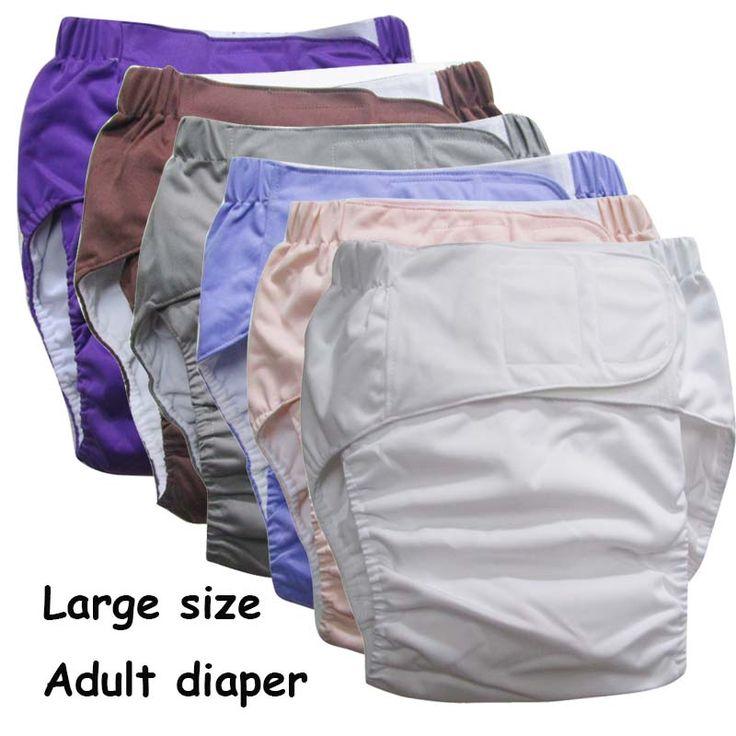 Super duży Wielokrotnego Użytku dla dorosłych pieluchy dla osób starszych i niepełnosprawnych, rozmiar adjuatable TPU płaszcz Wodoodporna Moczu Spodnie underware