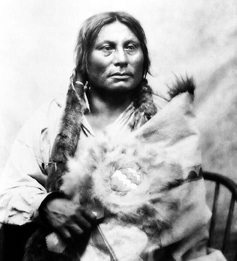 Les Grands Chefs Indiens gall (sioux hunkpapa)