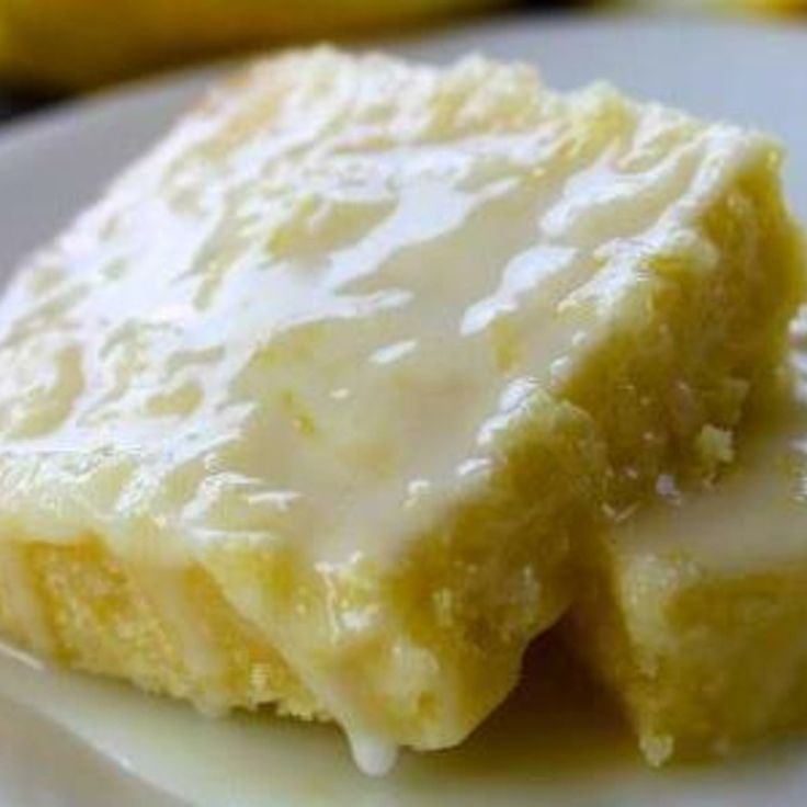 Lemon Brownies Recipe 2 | Just A Pinch Recipes These look so moist. I cant wait to try these.