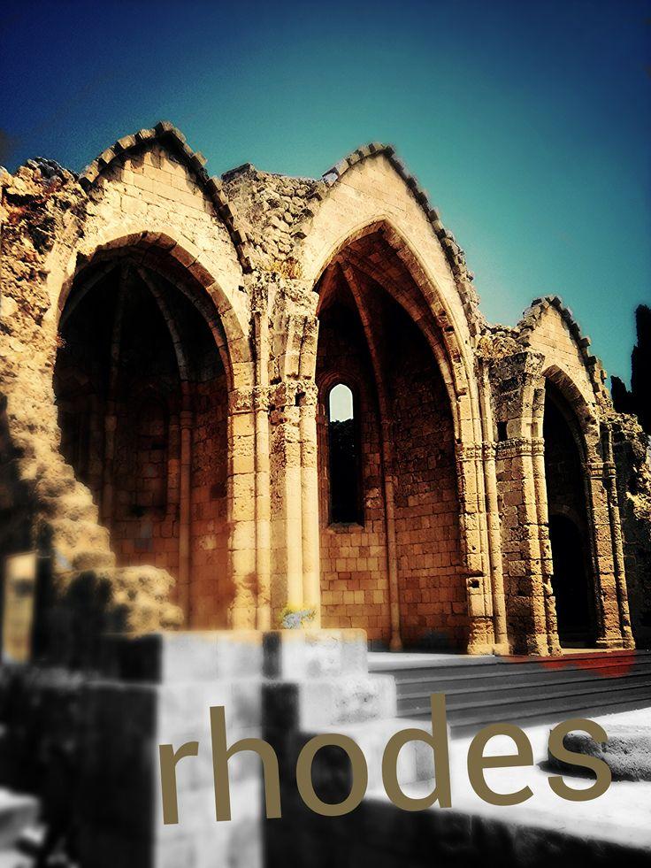 strolling in Rhodes