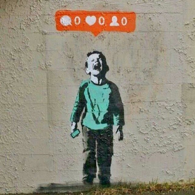 This. Is. By. @iheartstencils.  Not. By. #Banksy. Thank. You.