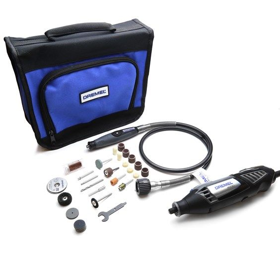 Dremel 4000 Multi Tool with Flexible Shaft & 45 Accessories