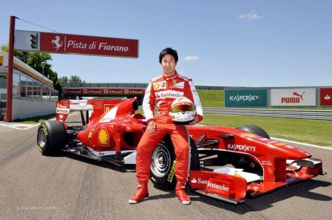 Yes! Yes! Yes! Ganbare, Nippon! Go, Kamui-san!  http://grandprix20.com/2013/05/28/kamui-kobayashi-as-ferrari-driver/  #kamuikobayashi #ferrari #F1 #japan