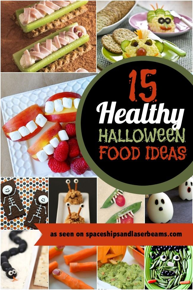 Healthy Halloween Kids Party Food Ideas
