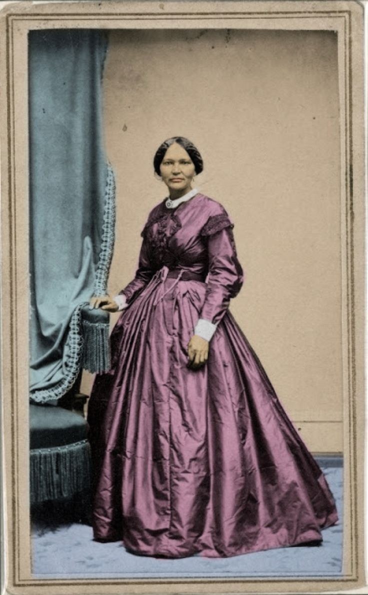 ELIZABETH KECKLEY, a freed slave and the first African American Fashion Designer at the White House.