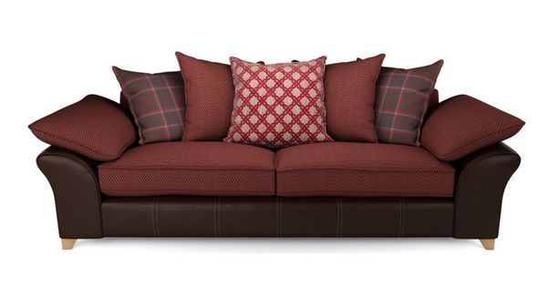 Reuben 4 seater pillow back sofa reuben dfs ireland for Perez 4 seater pillow back sectional sofa