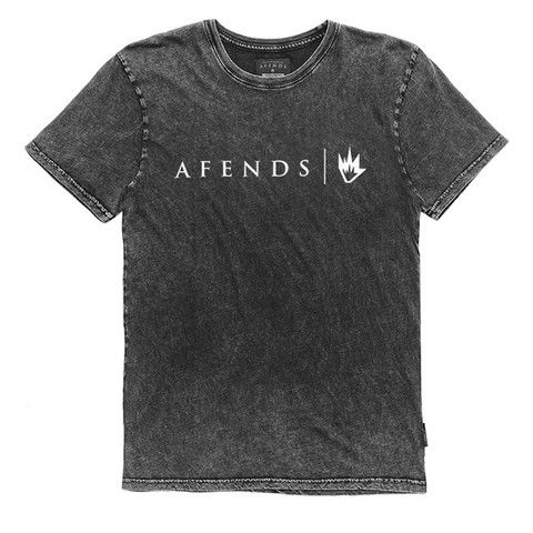 Afends Afends - Slim Fit Tee - Black Acid