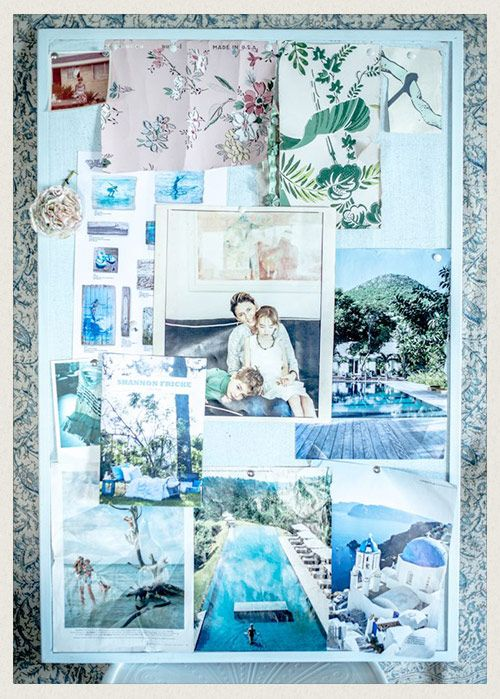 Pin up magazine clippings, postcards & pictures onto a board so your ultimate desires & goals are always in sight. 11 ways to create change both big and small at home and in life by @Shannon Fricke
