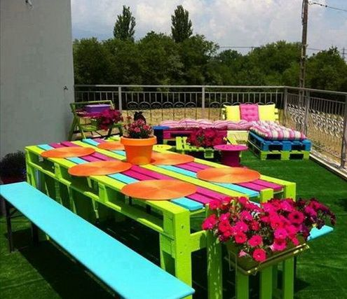 Pallet Furniture Projects | 46 AMAZING pallet ideas for recycling and building pallet furniture ...