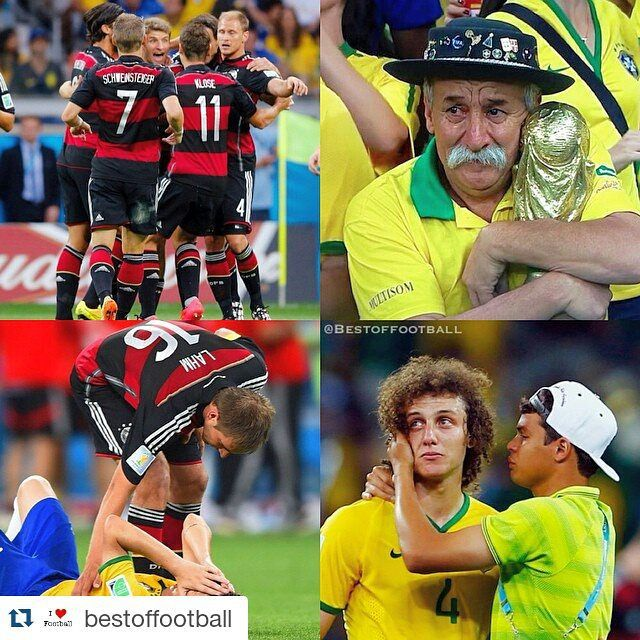 #Repost @bestoffootball  One year ago today this happened. #Germany - #Brazil 7-1 #sports