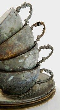 old teacups, grey ♥♥♥ re pinned by www.huttonandhutton.co.uk @HuttonandHutton #HuttonandHutton