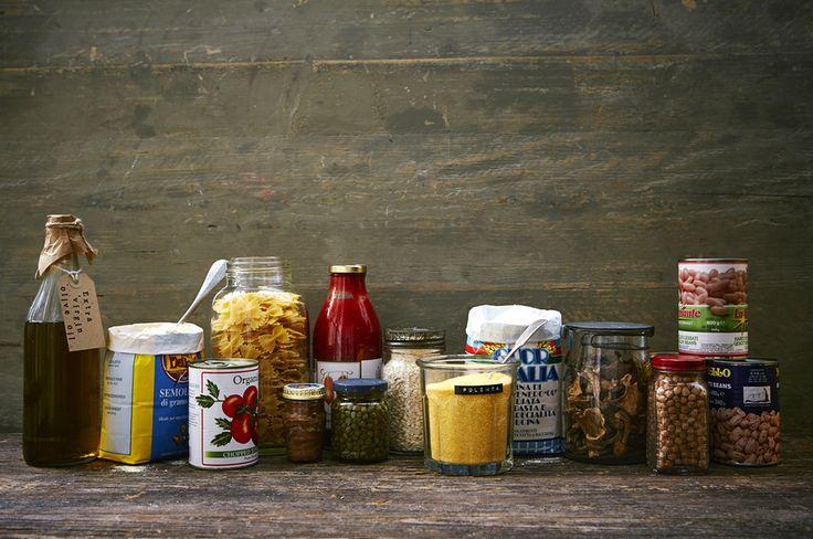 Store cupboard essential Italian ingredients