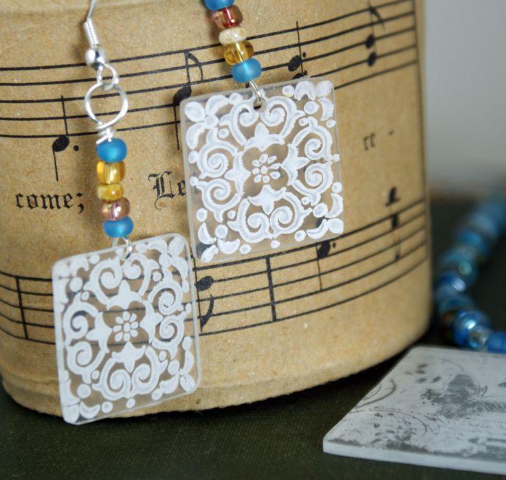 Shrink Film Jewelry Diy Shrink Plastic Jewelry Shrink