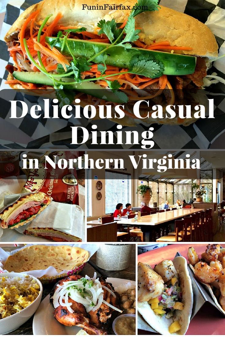 Here is a look at some of the local, casual dining spots where we've scored delicious food in Northern Virginia over the last few months.