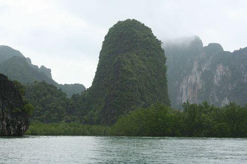 Krabi, Thailand  - beautiful mountains