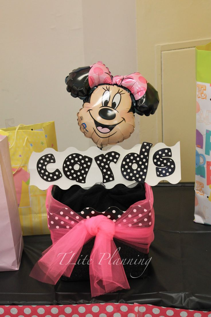 631 Best Minnie Mouse Birthday Party Ideas Images On