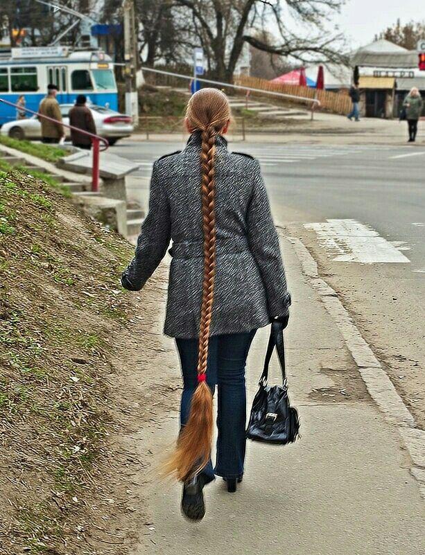 Long beautiful hair fixation